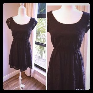 LBD, black lace with sewn in liner